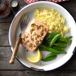 Lemon Basil Salmon