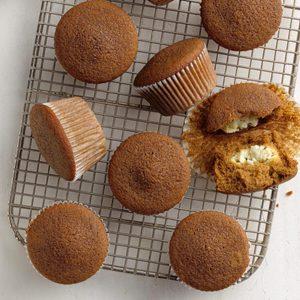 Lemon-Filled Gingerbread Muffins