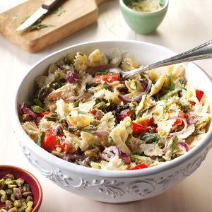 Lemony Vegetables and Pasta