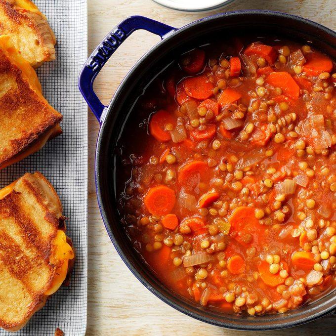 Lentil-Tomato Soup