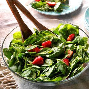Light Strawberry-Spinach Salad