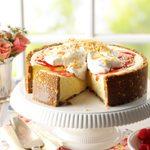 Lime-Raspberry Pie with Coconut Cream