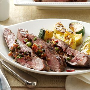 Loaded Flank Steak
