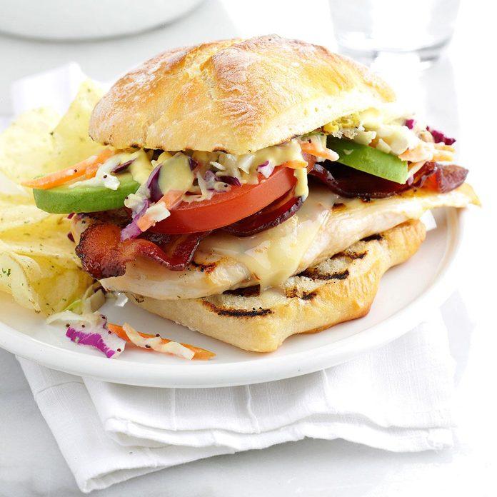 Inspired by: Wendy's Southwest Avocado Chicken Sandwich