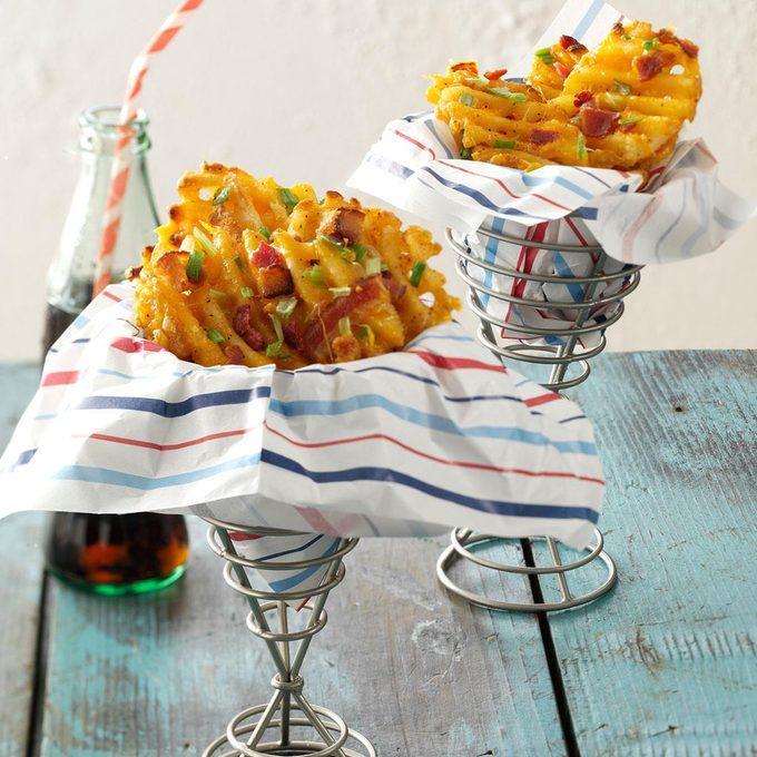 Loaded Waffle Fries
