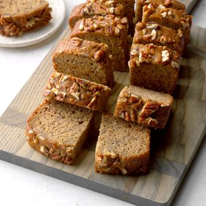 Makeover Banana Nut Bread