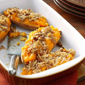 Makeover Streusel-Topped Sweet Potatoes