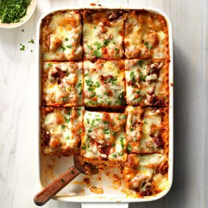 Makeover Traditional Lasagna