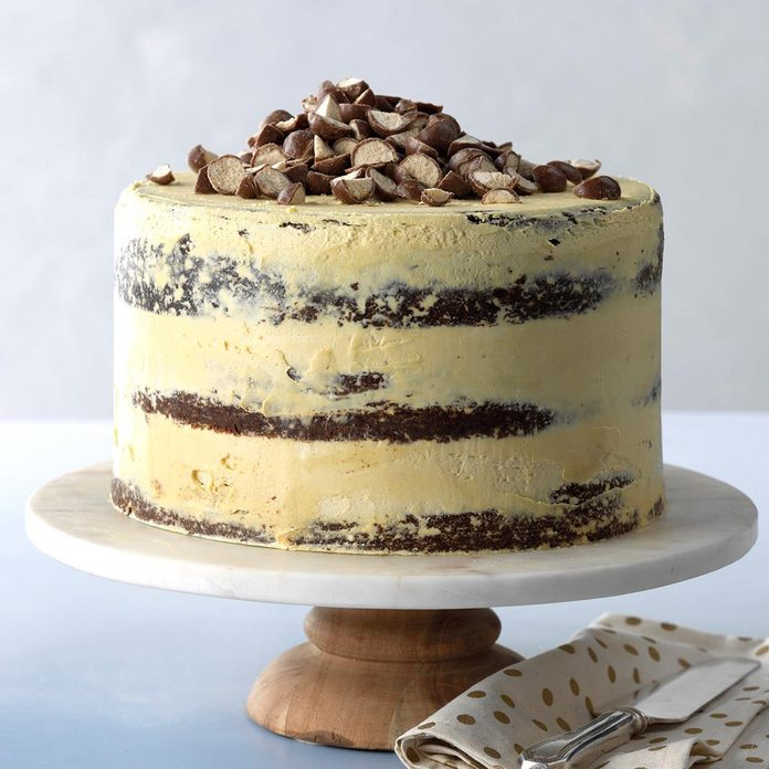 New Jersey: Malted Chocolate & Stout Layer Cake