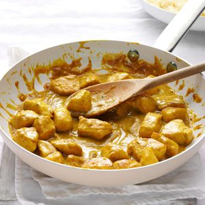 Mango Chutney Chicken Curry