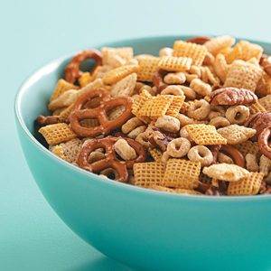 Maple-Glazed Snack Mix
