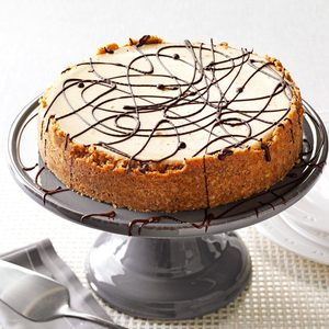 Maple-Nut Cheesecake