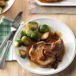 Maple-Pecan Pork Chops