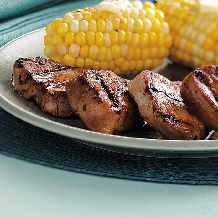 Marinated Pork Medallions
