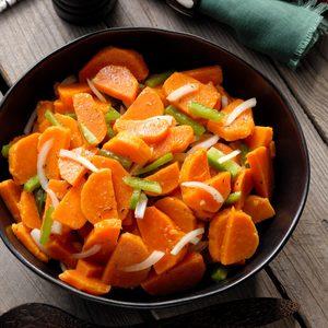 Marinated Sweet Potato Salad