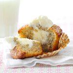 Marshmallow-Filled Banana Cupcakes