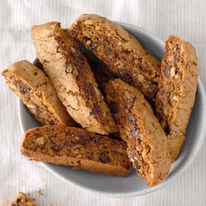 Mayan Chocolate Biscotti
