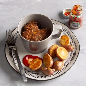 Meat Loaf in a Mug