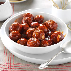 Meatballs in Barbecue Sauce