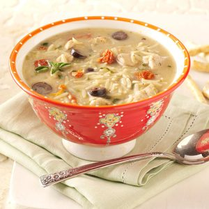 Mediterranean Chicken Soup