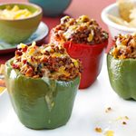 Mexican Beef-Stuffed Peppers