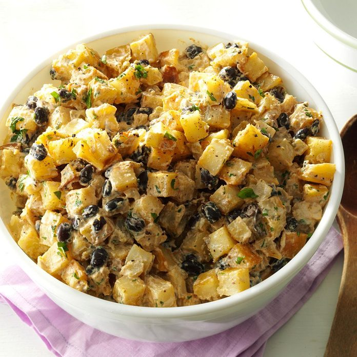 Mexican Roasted Potato Salad