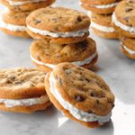 Mini Chocolate Chip Sandwich Cookies
