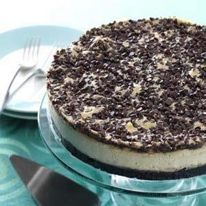 Mocha Chocolate Chip Cheesecake