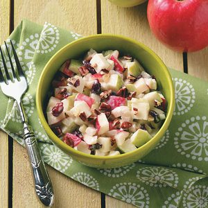 Mom's Gingered Apple Salad