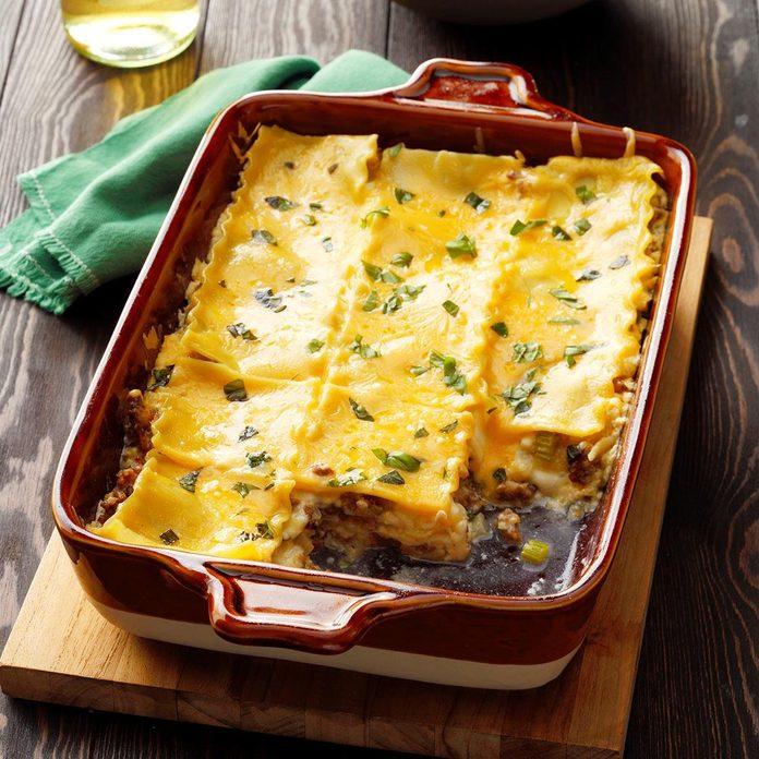 Mom's White Lasagna