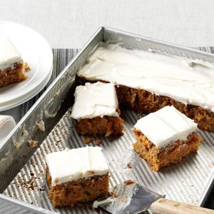 Mrs. Thompson's Carrot Cake
