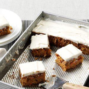 Mrs. Thompson's Carrot Cake