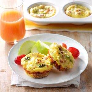 Broccoli Quiche Cups