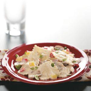 Mushroom Cheese Ravioli