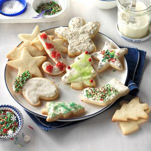 Never-Fail Cutout Cookies