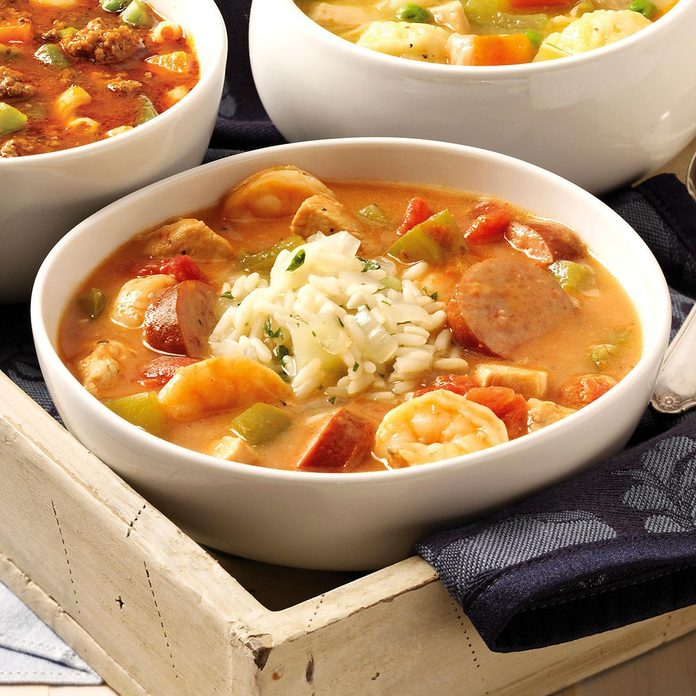 Louisiana: New Orleans Gumbo
