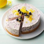 No-Bake Blueberry Cheesecake