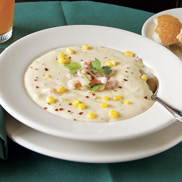Northwest Seafood Corn Chowder