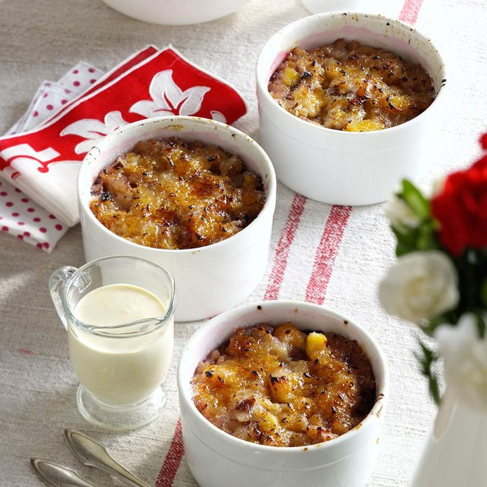 Oatmeal Brulee with Ginger Cream