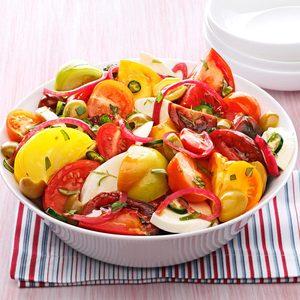 Olive Caprese Salad