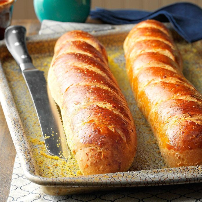 Onion French Bread Loaves