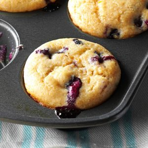 Orange-Berry Yogurt Muffins
