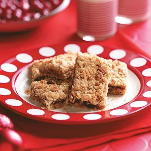 Orange-Cranberry Oat Bars