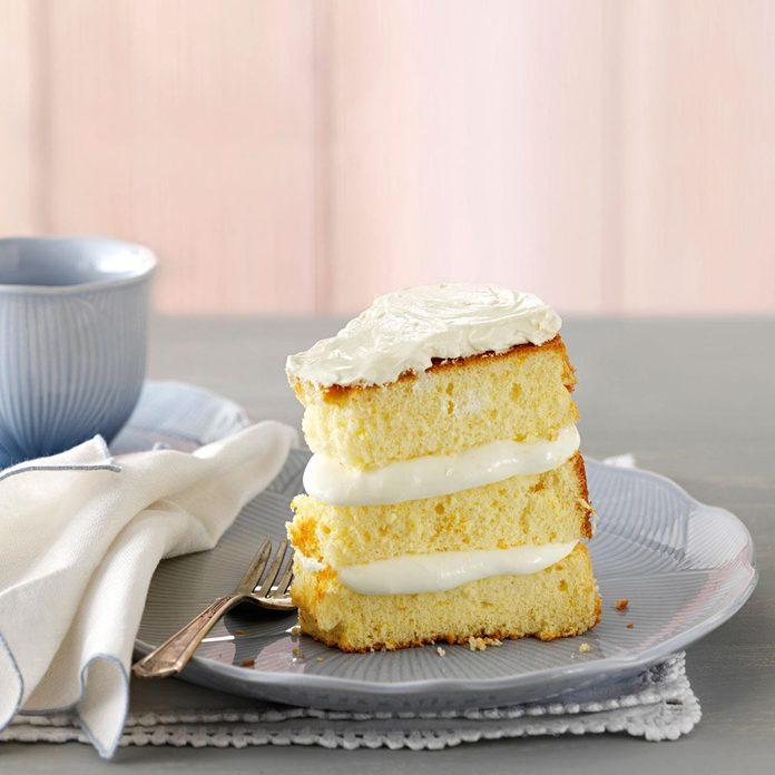 Orange Cream Chiffon Cake