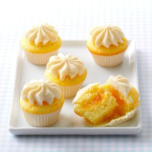 Orange Dream Mini Cupcakes