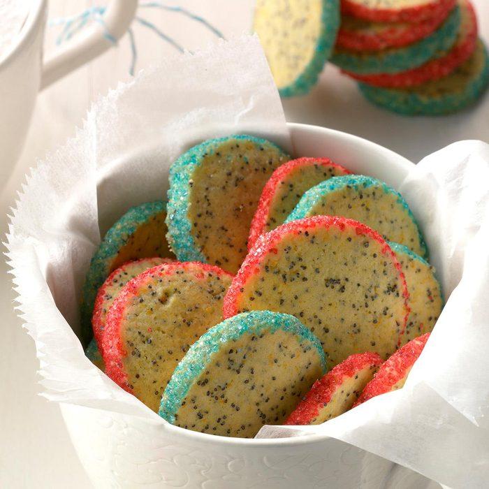 Orange Poppy Seed Cookies