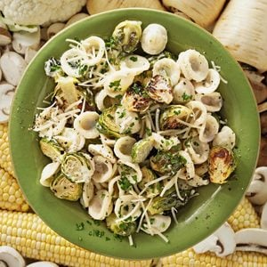 Orecchiette with Roasted Brussels Sprouts
