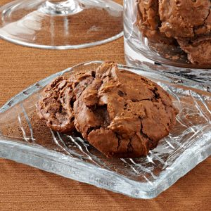 Outrageous Chocolate Mint Cookies