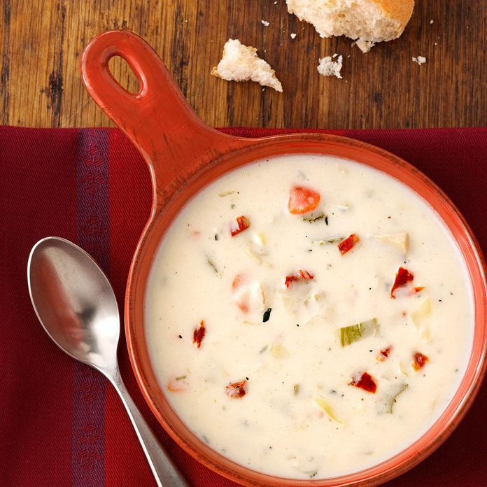 Parmesan Artichoke Soup