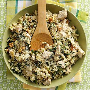 Parmesan Chicken Couscous